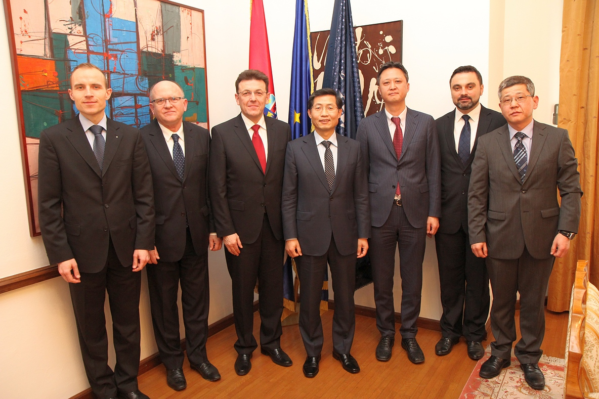CROATIAN CHAMBER OF ECONOMY VISIT