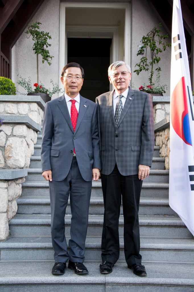 Veleposlanik Park Won-sup i akademik Zeljko Reiner