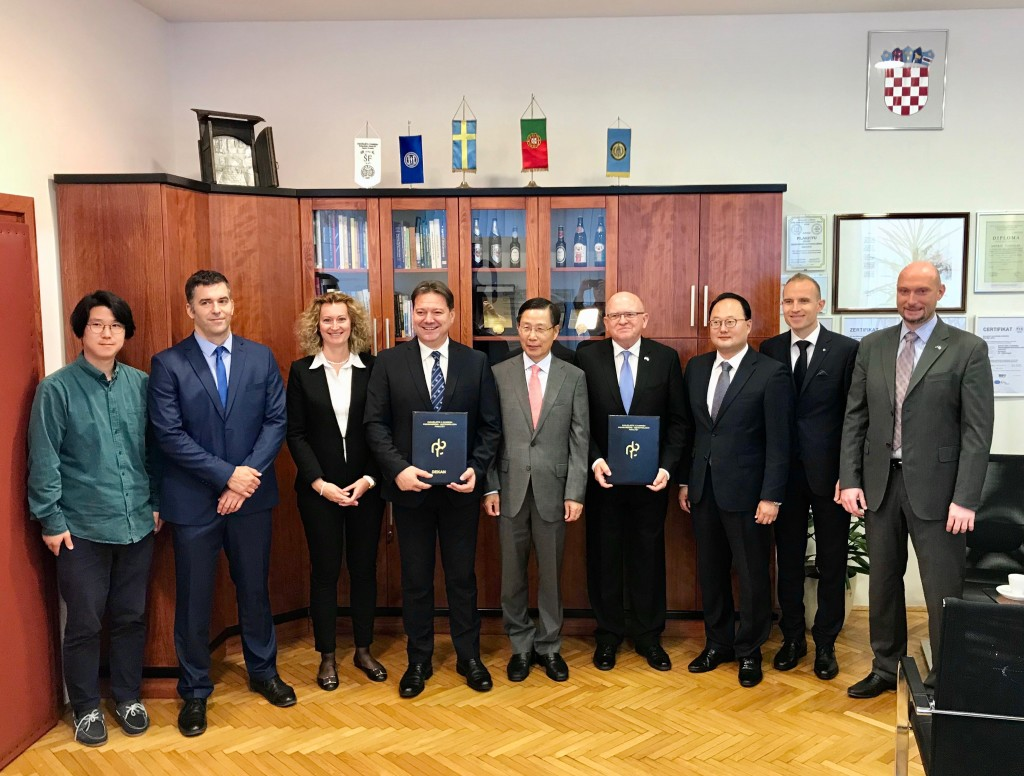 FACULTY OF FOOD TECHNOLOGY AND BIOTECHNOLOGY JOINS THE CROATIAN-KOREAN BUSINESS CLUB